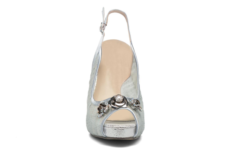 Escarpins Menbur Paula Bleu vue portées chaussures