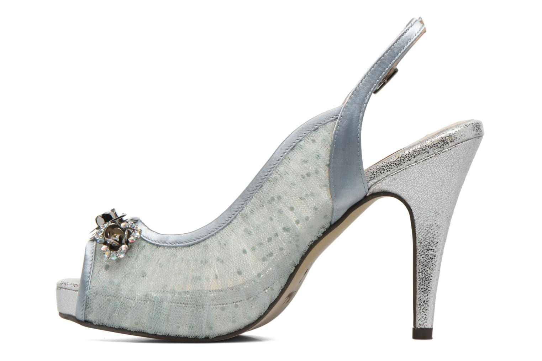High heels Menbur Paula Blue front view