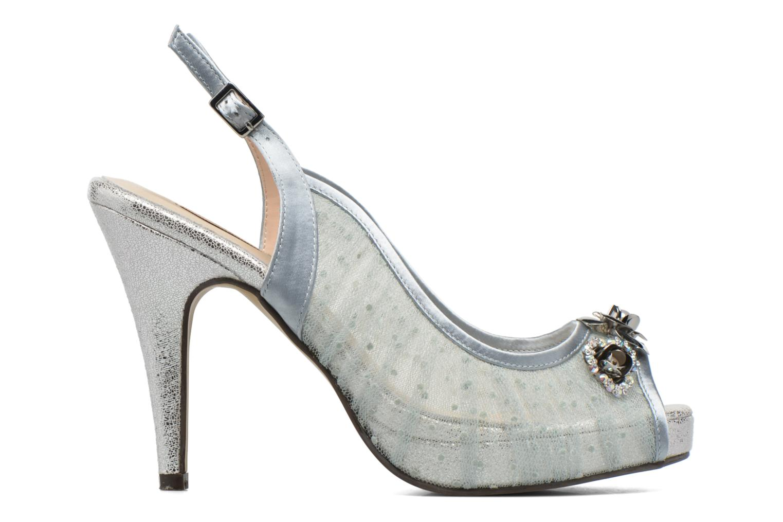 High heels Menbur Paula Blue back view