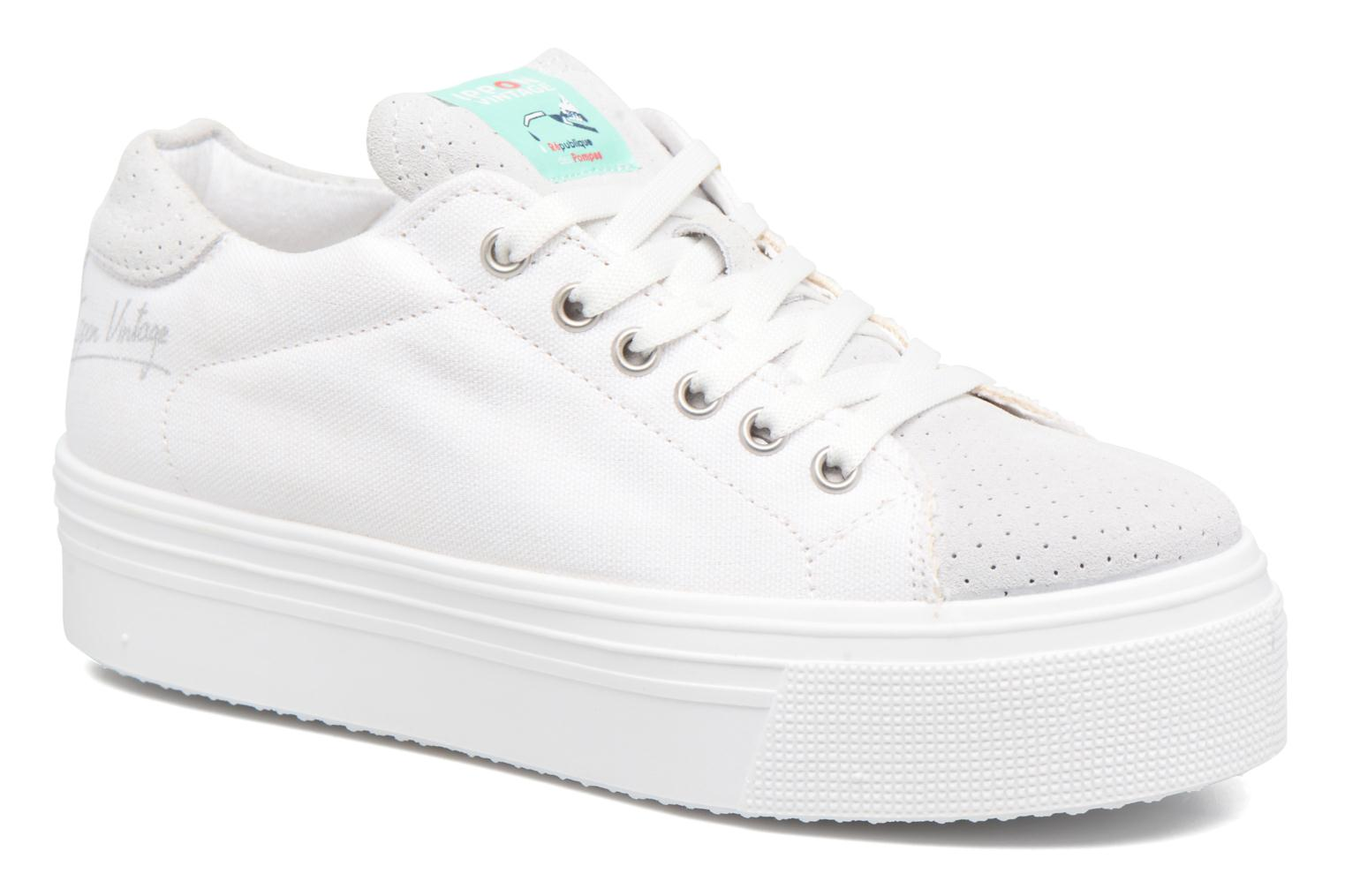 Trainers Ippon Vintage Tokyo Fun White detailed view/ Pair view