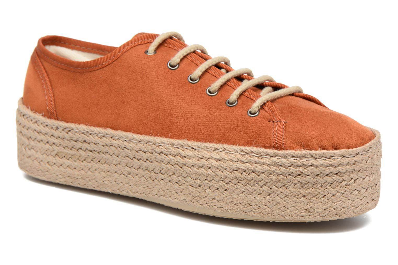 Espadrilles Ippon Vintage Nami Orange detailed view/ Pair view