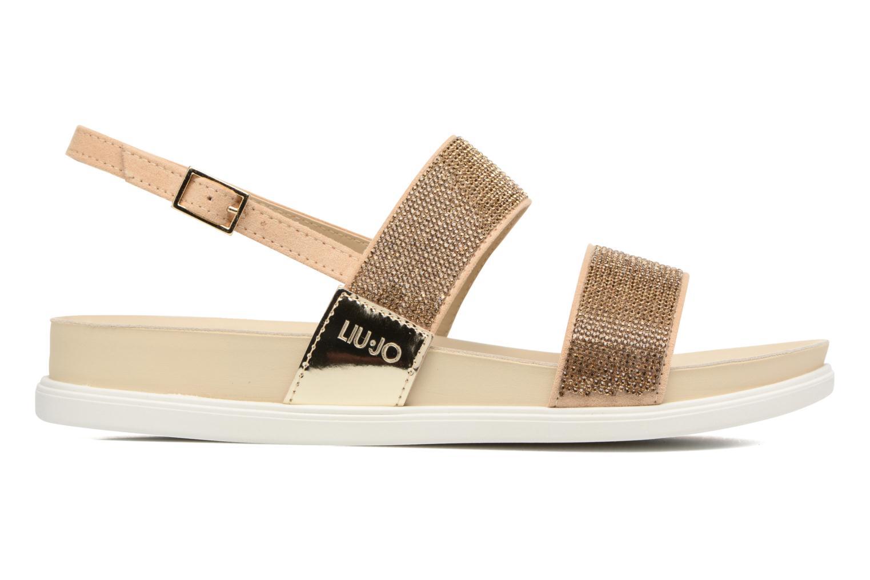 Sandales et nu-pieds Liu Jo Sandale Foot Bed Naoko Or et bronze vue derrière