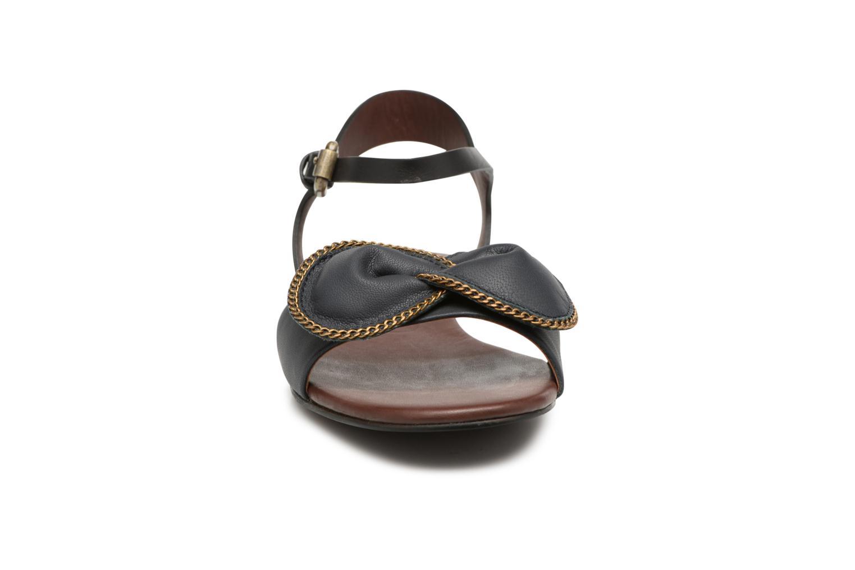 Sandales et nu-pieds See by Chloé Clara Sandal Noir vue portées chaussures