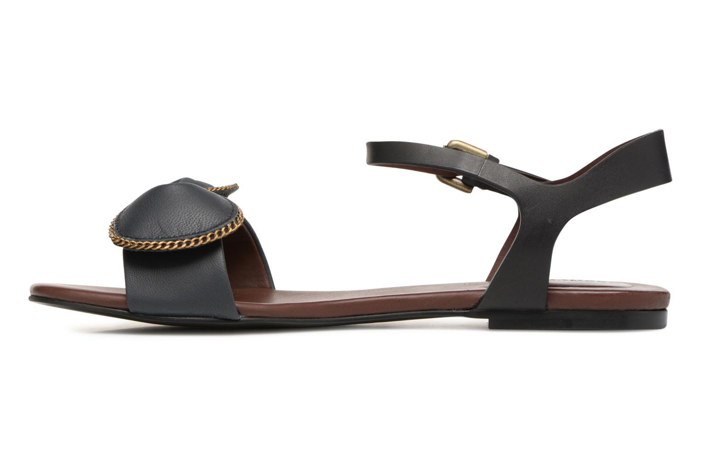 Sandales et nu-pieds See by Chloé Clara Sandal Noir vue face