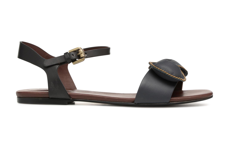 Sandales et nu-pieds See by Chloé Clara Sandal Noir vue derrière