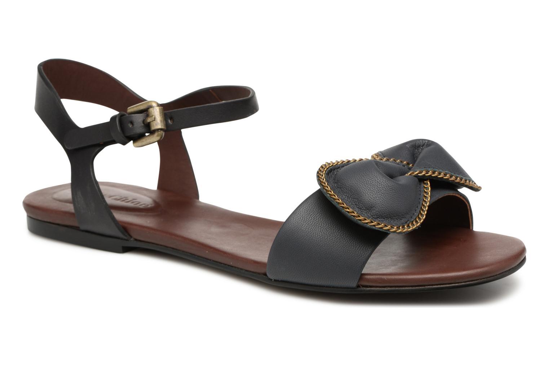 Sandales et nu-pieds See by Chloé Clara Sandal Noir vue détail/paire