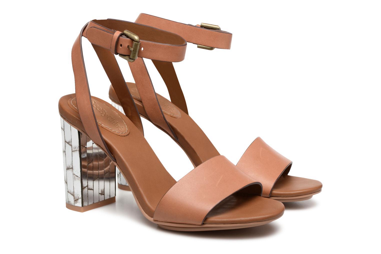 Sandales et nu-pieds See by Chloé Arina Beige vue 3/4
