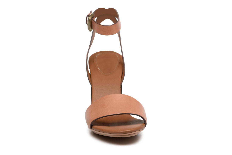 Sandales et nu-pieds See by Chloé Arina Beige vue portées chaussures