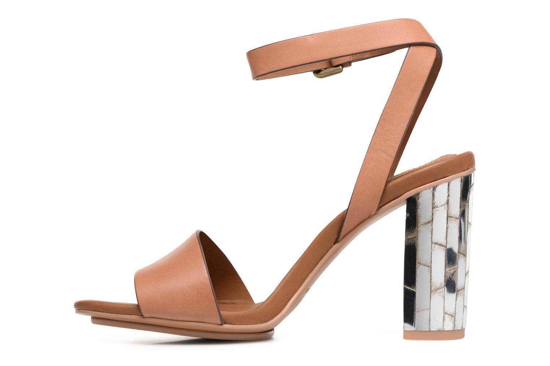 Sandales et nu-pieds See by Chloé Arina Beige vue face