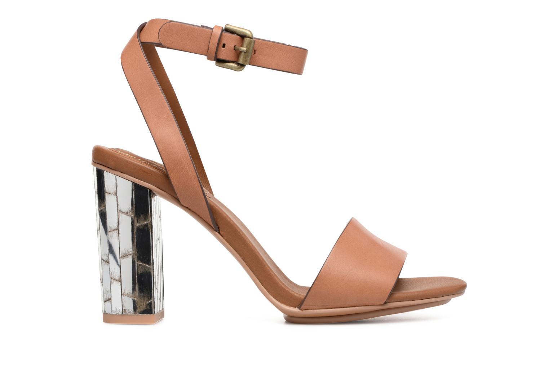 Sandales et nu-pieds See by Chloé Arina Beige vue derrière