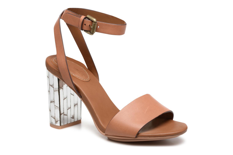 Sandales et nu-pieds See by Chloé Arina Beige vue détail/paire