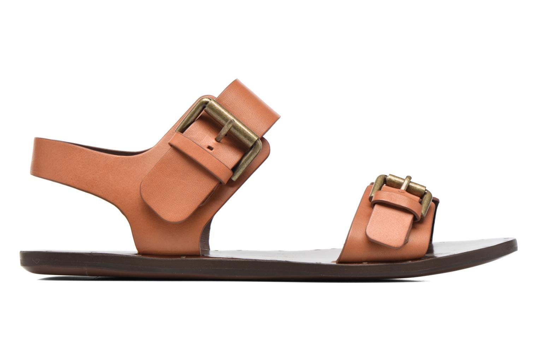 Sandales et nu-pieds See by Chloé Romy Flat Beige vue derrière