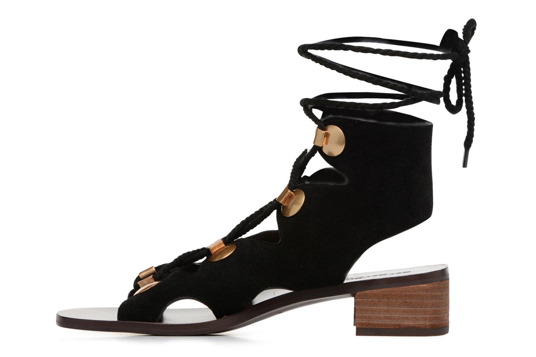 Sandaler See by Chloé Edna Sort se forfra