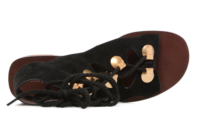 Sandaler See by Chloé Edna Sort se fra venstre