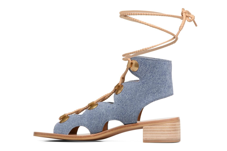 Sandali e scarpe aperte See by Chloé Edna Azzurro immagine frontale