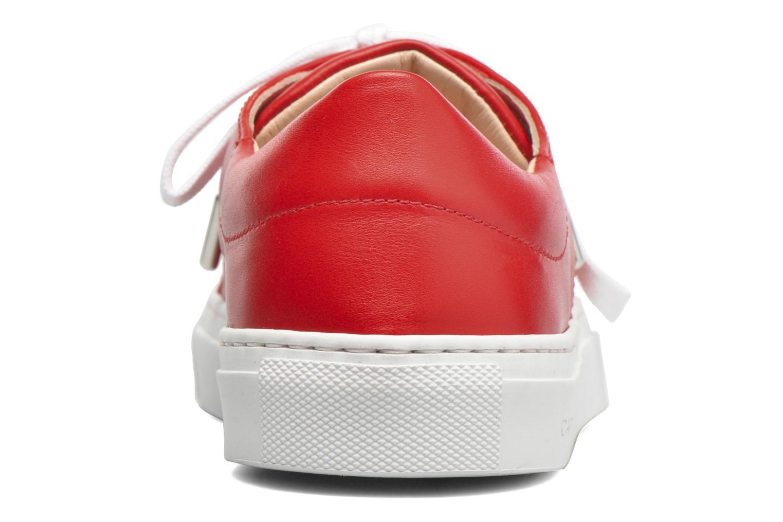Sneakers Carven Resonance 2 Rood rechts