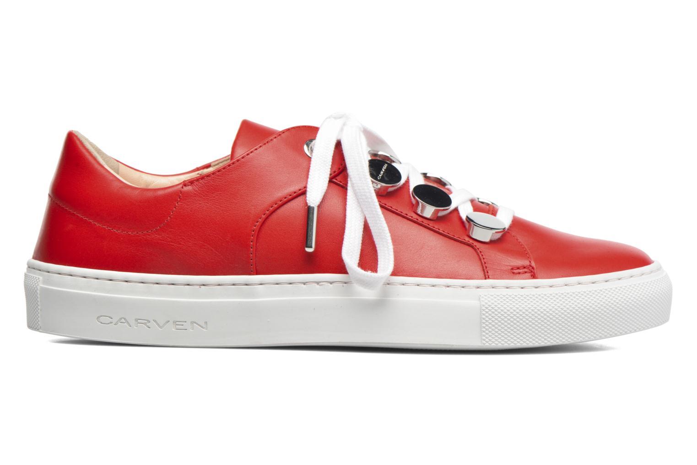 Sneakers Carven Resonance 2 Rood achterkant