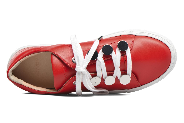 Sneakers Carven Resonance 2 Rosso immagine sinistra