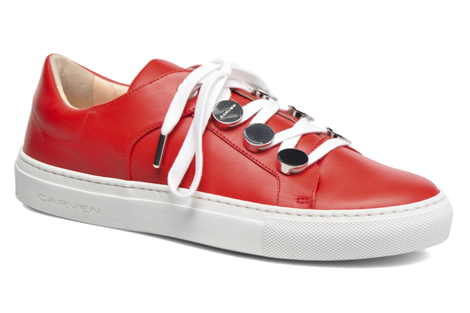 Sneakers Carven Resonance 2 Rood detail