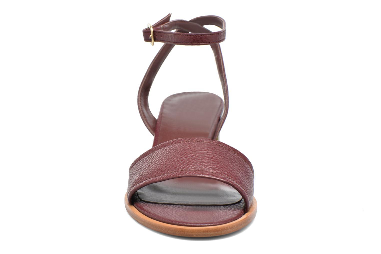 Sandales et nu-pieds Avril Gau Until Bordeaux vue portées chaussures