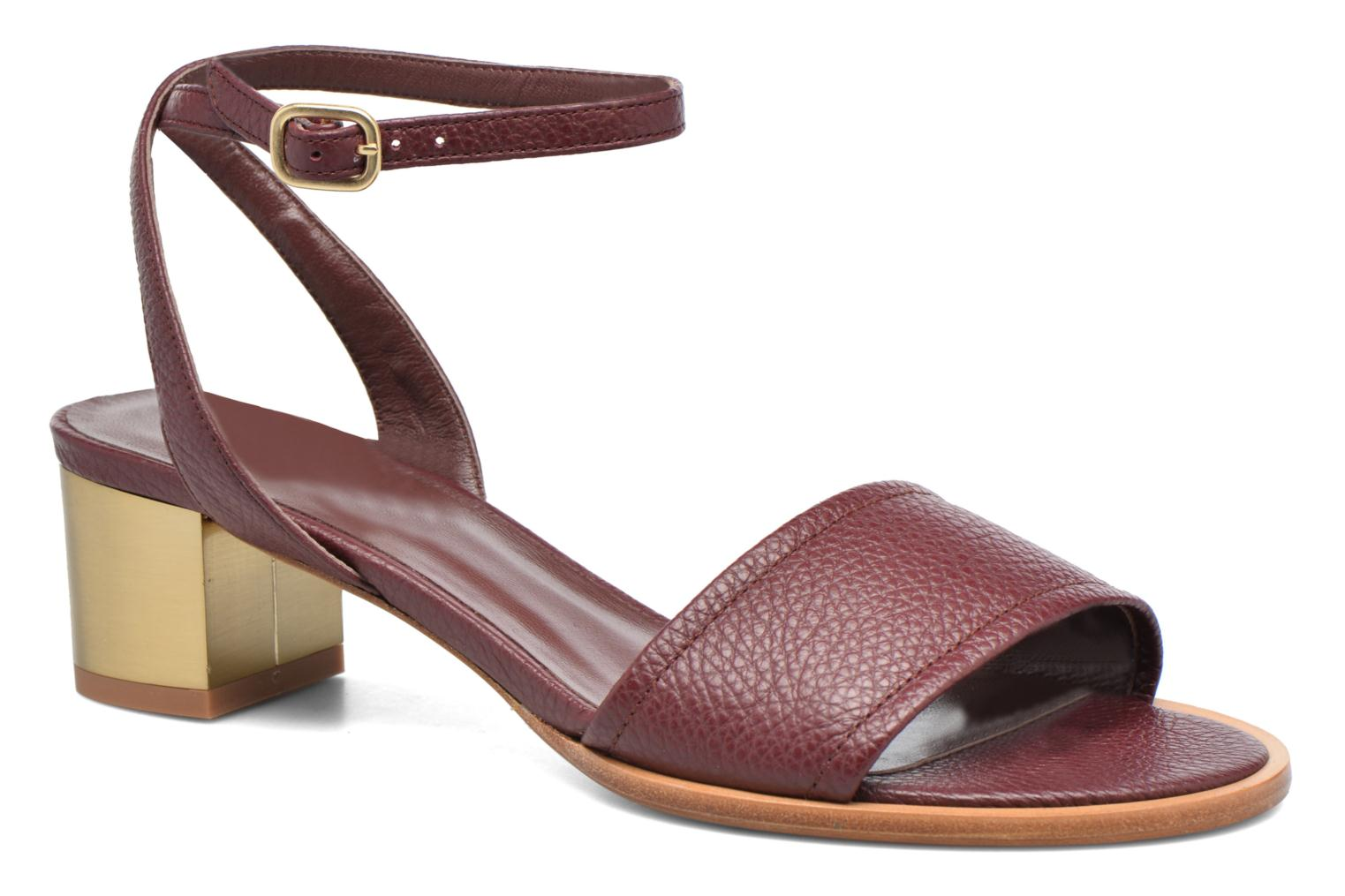Sandals Avril Gau Until Burgundy detailed view/ Pair view