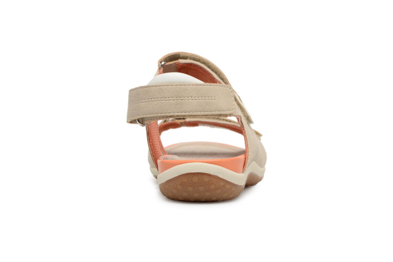 Sandali e scarpe aperte Geox D SAND.VEGA A D52R6A Beige immagine destra