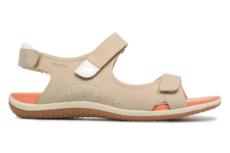Sandali e scarpe aperte Geox D SAND.VEGA A D52R6A Beige immagine posteriore