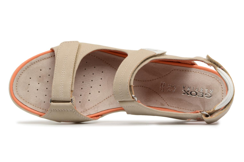 Sandali e scarpe aperte Geox D SAND.VEGA A D52R6A Beige immagine sinistra