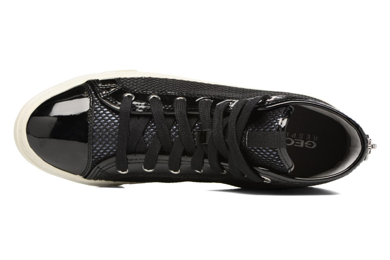 Sneakers Geox D NEW CLUB E D5458E Nero immagine sinistra