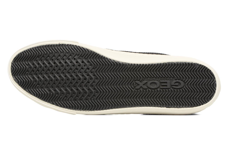 Sneakers Geox D NEW CLUB E D5458E Nero immagine dall'alto
