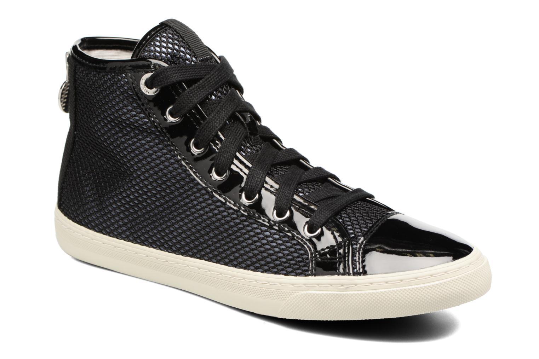 Baskets Geox D NEW CLUB E D5458E Noir vue détail/paire