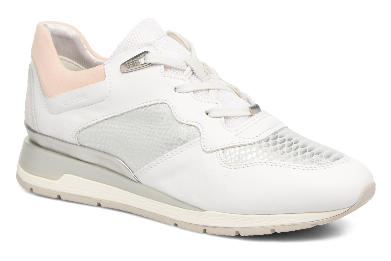 Zapatos de mujer baratos zapatos de mujer Geox D SHAHIRA B D62N1B (Blanco) - Deportivas en Más cómodo