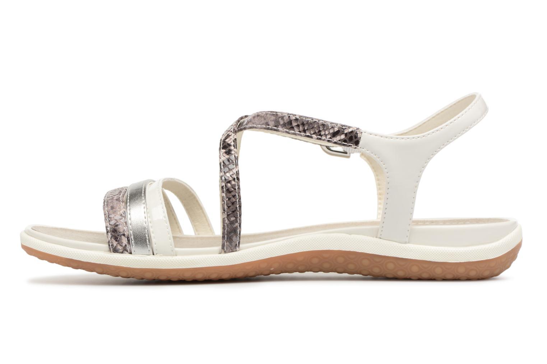 Sandals Geox D SAND.VEGA C D62R6C Grey front view