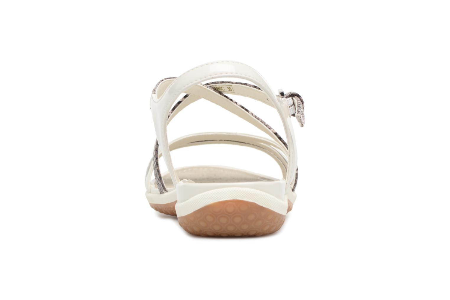 Sandals Geox D SAND.VEGA C D62R6C Grey view from the right