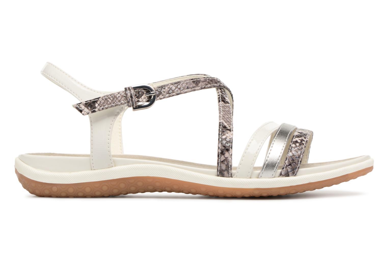Sandali e scarpe aperte Geox D SAND.VEGA C D62R6C Grigio immagine posteriore