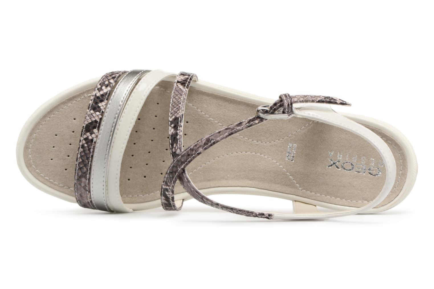Sandals Geox D SAND.VEGA C D62R6C Grey view from the left