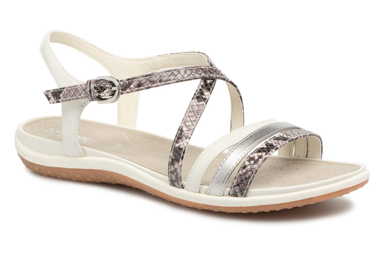 Sandaler Geox D SAND.VEGA C D62R6C Grå detaljeret billede af skoene