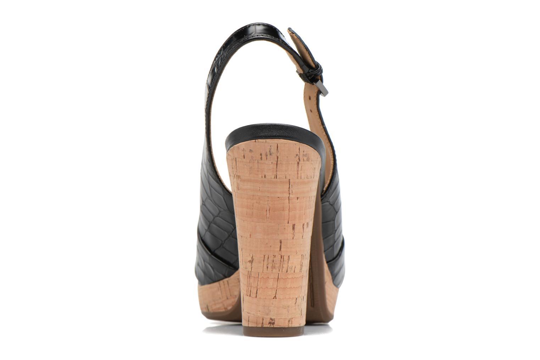 Sandali e scarpe aperte Geox D MAUVELLE C D724LC Nero immagine destra
