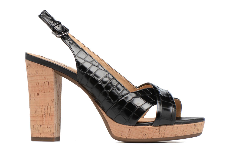 Sandali e scarpe aperte Geox D MAUVELLE C D724LC Nero immagine posteriore