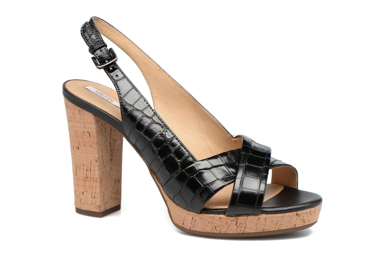 Sandali e scarpe aperte Geox D MAUVELLE C D724LC Nero vedi dettaglio/paio