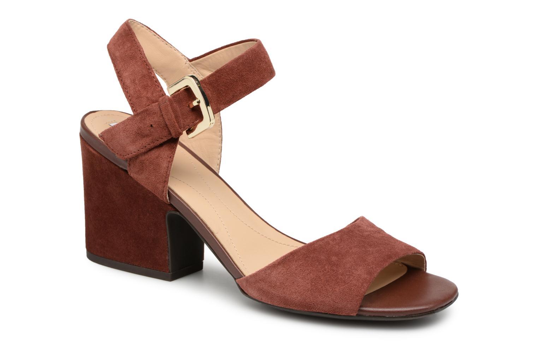 Zapatos promocionales Geox D MARILYSE B D724UB (Rojo) - Sandalias   Los últimos zapatos de descuento para hombres y mujeres