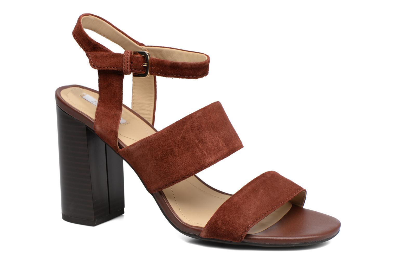 Sandales et nu-pieds Geox D AUDALIES H.SAN. A D724WA Marron vue détail/paire