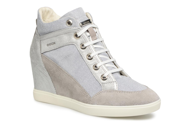 Zapatos promocionales Geox D ELENI C D7267C (Gris) - Deportivas   Gran descuento