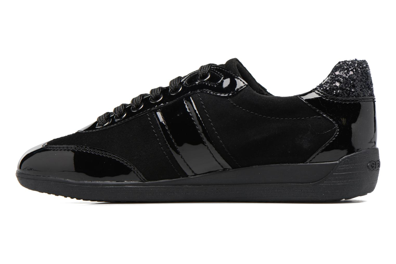 Sneakers Geox D MYRIA A D7268A Zwart voorkant