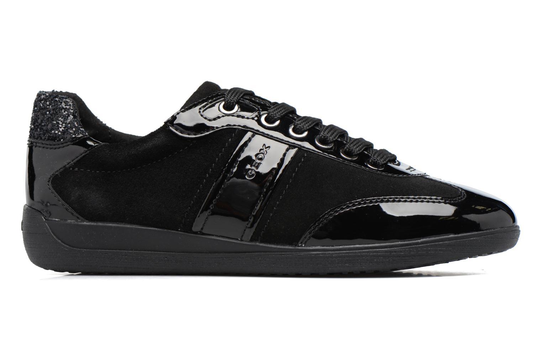 Sneakers Geox D MYRIA A D7268A Zwart achterkant