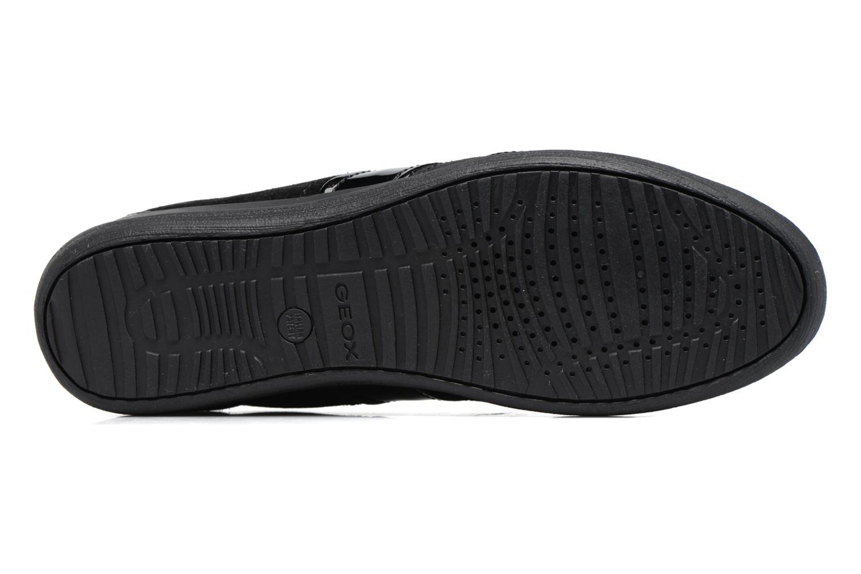 Sneakers Geox D MYRIA A D7268A Nero immagine dall'alto