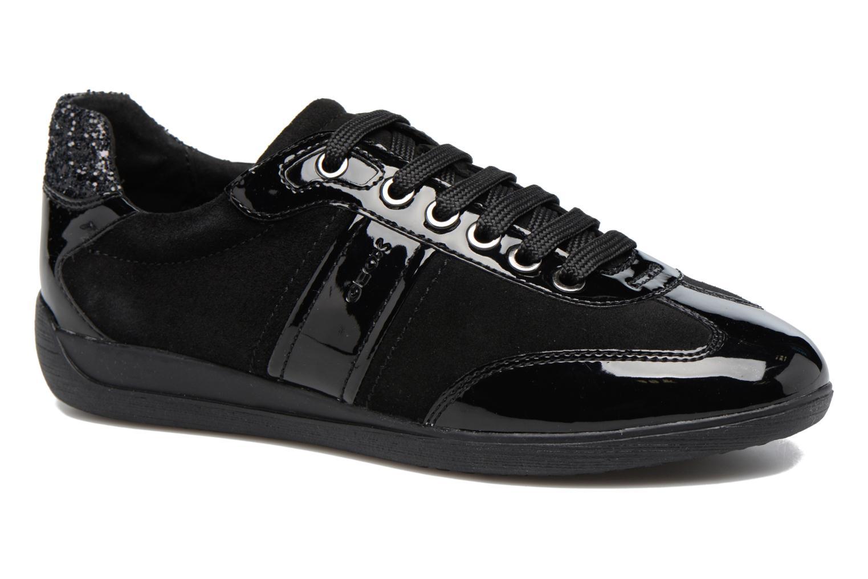 Sneakers Geox D MYRIA A D7268A Zwart detail