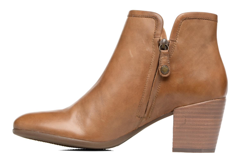 Bottines et boots Geox D LUCINDA B D7270B Marron vue face