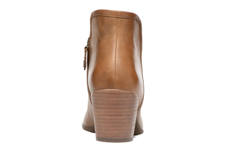 Bottines et boots Geox D LUCINDA B D7270B Marron vue droite