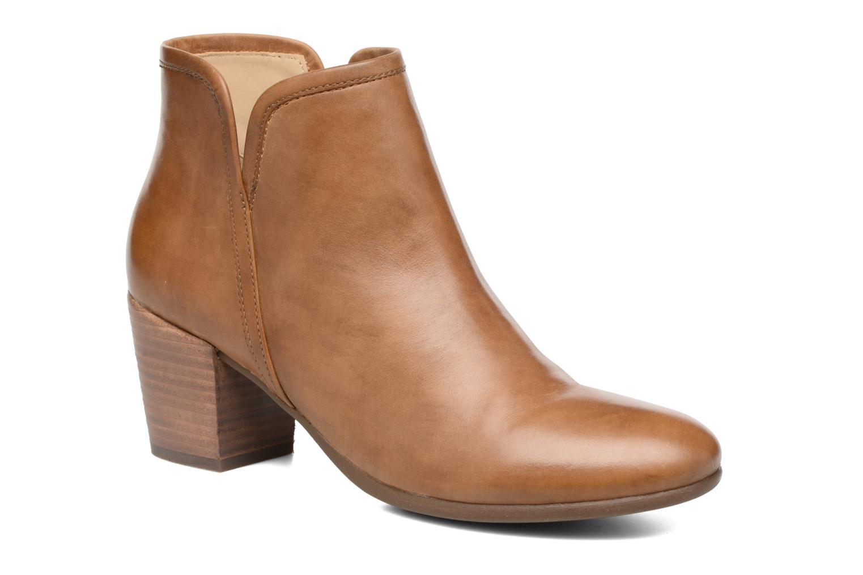 Bottines et boots Geox D LUCINDA B D7270B Marron vue détail/paire